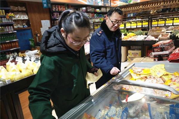 湘乡市食药工商质监局清查问题水饺 确保食品安全
